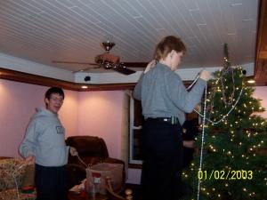 The tree at mom's